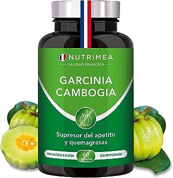 Garcinia Cambogia Pura Quemagrasas Natural | 1485 mg por Dosis 60% HCA Supresor del Apetito Termogénico | Facilita Digestión Fatburner Potente | 60 ...