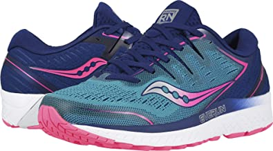 903bf460be Saucony Women's Guide ISO 2 Sneaker (6.5 B(M) US, Teal/Pink)