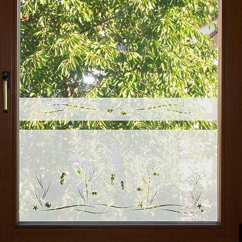 Fenster Undurchsichtig 604 50cm hoch sichtschutz folie fenster sichtschutzfolie
