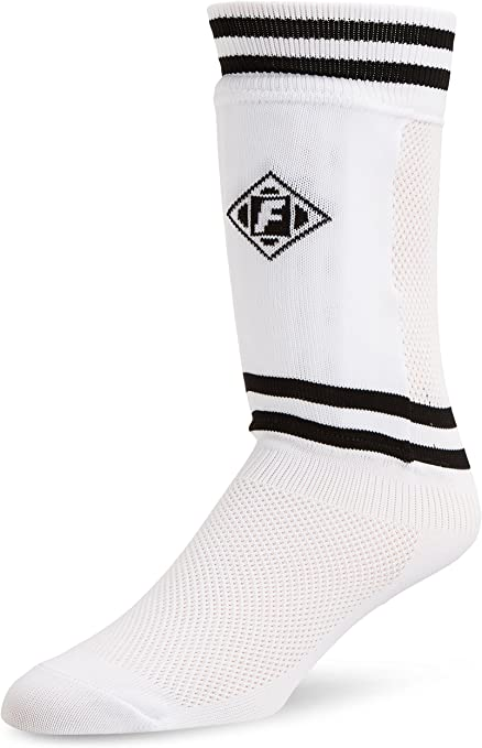 "Franklin Sock/'R Soccer Shin Guard Socks Small up to 47/"" Elastic cuff removable"