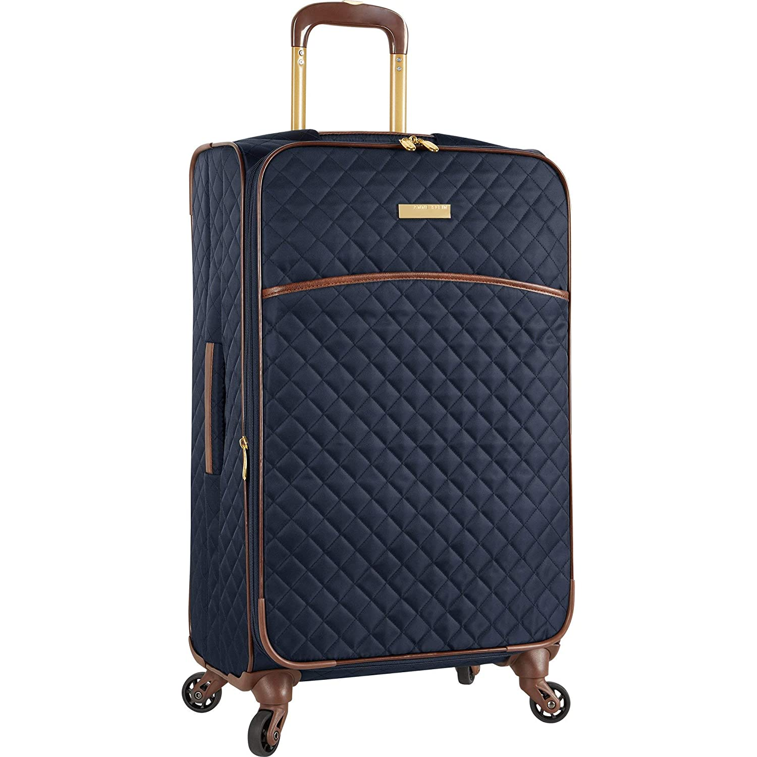 Image of Anne Klein Expandable Lightweight Spinner Luggage Suitcase Luggage
