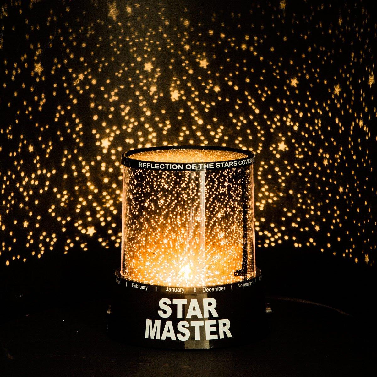 LED Sternenhimmel Star Master Nachtlicht Lampe Mobiler Sternen ...