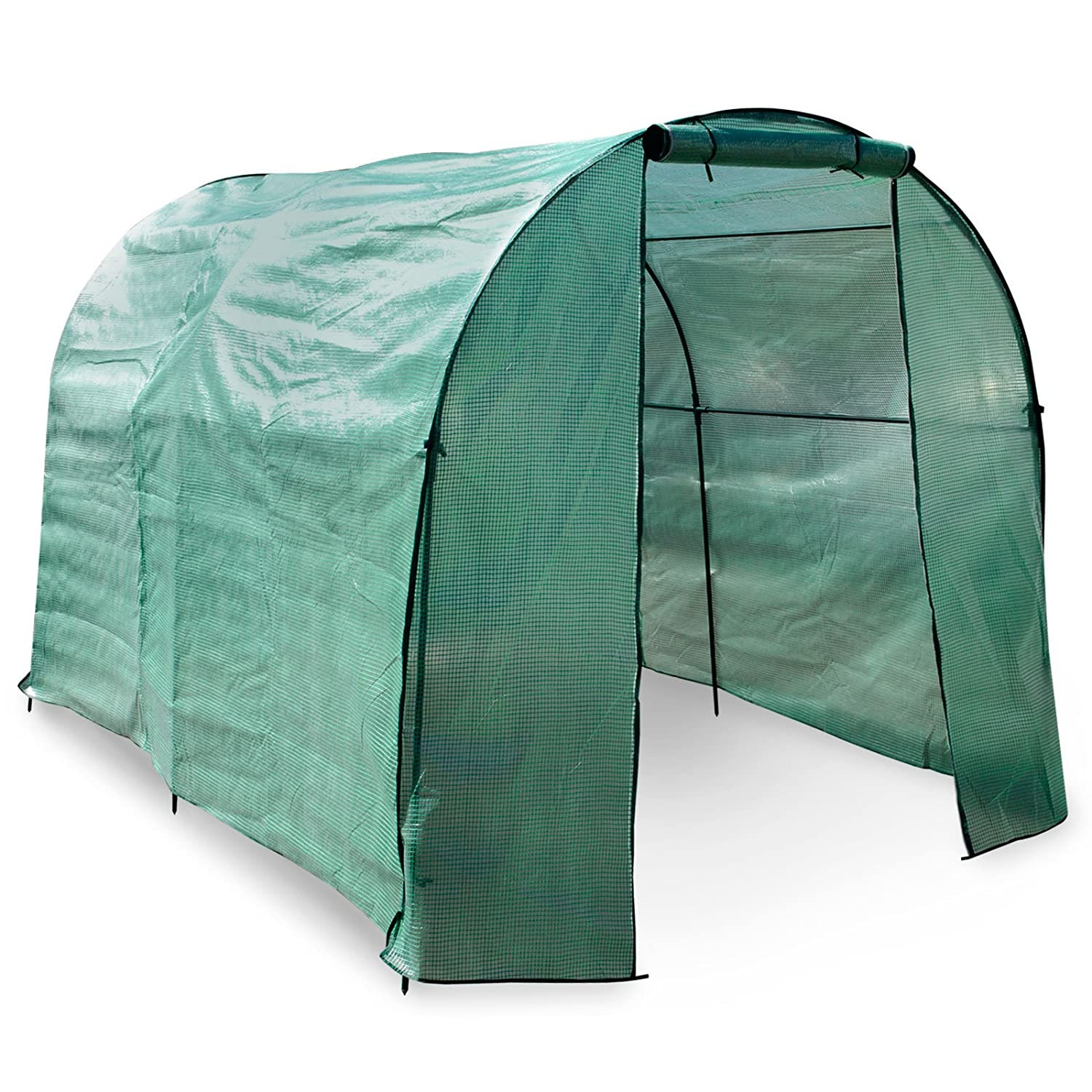 casa pura Greenhouse, Libre | Large Grow Tent (300 x 190 x 190 cm) | Includes Ground Pegs