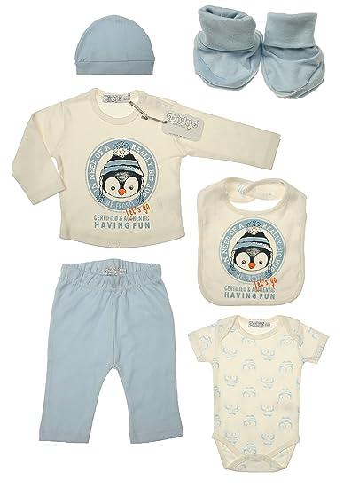 Dirkje DirkjeDirkje Baby-Jungen Geschenkset Bekleidungsset 6-teilig  584 5000 Baby Boys Gift c73ac752fc1