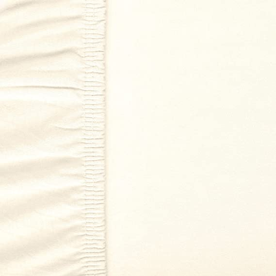 aqua-textil Viana sábana Bajera Ajustable algodón, Weiß 90x200 bis 100x200 cm: Amazon.es: Hogar