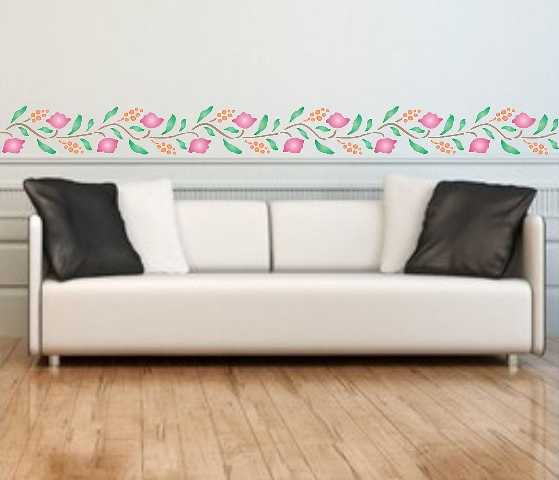 Plantillas de pared reutilizables para pintar para manualidades Folkart Stencil para manualidades