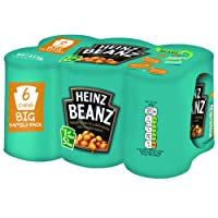 Heinz Baked Beanz in Tomato Sauce, 415 g (Pack of 6)