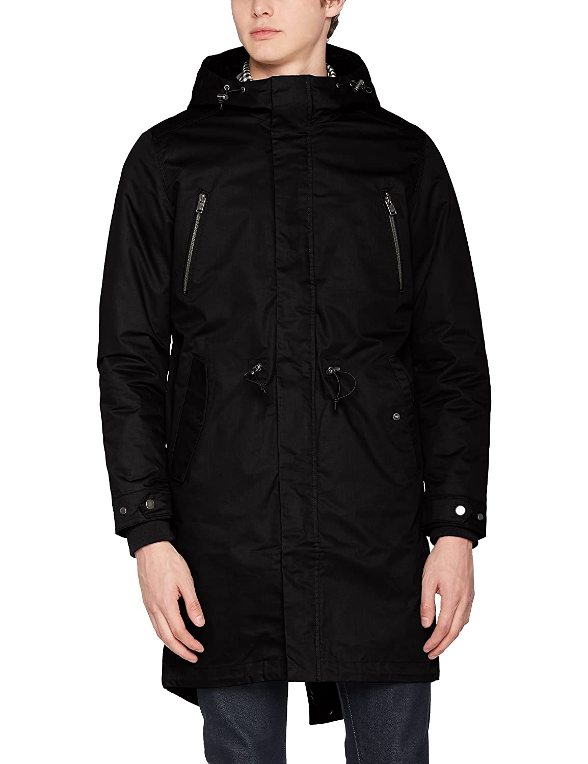 TALLA S. SELECTED HOMME Shnclash Parka STS Hombre