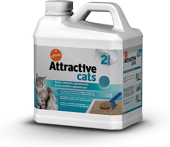Attractive Arena Aglomerante para Gatos - 6 kg: Amazon.es ...