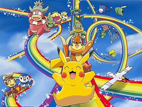 Amazon.com: Pokemon Pikachu Comestible Decoración Para Tarta ...