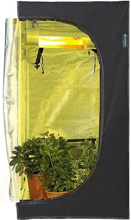 Grow Tent 60 x 60 x 120 CM IDAODAN Hydroponic Indoor Bud