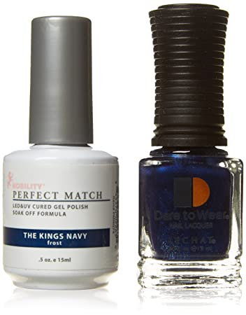 LeChat Duo Nail Polish, The King\'s Navy: Amazon.co.uk: Beauty