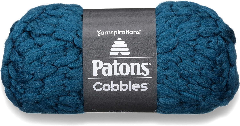 Patons Cobbles Yarn, Tetra Teal