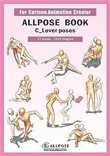 Allpose Book] B_Dynamic poses (for comic, cartoon, manga, anime
