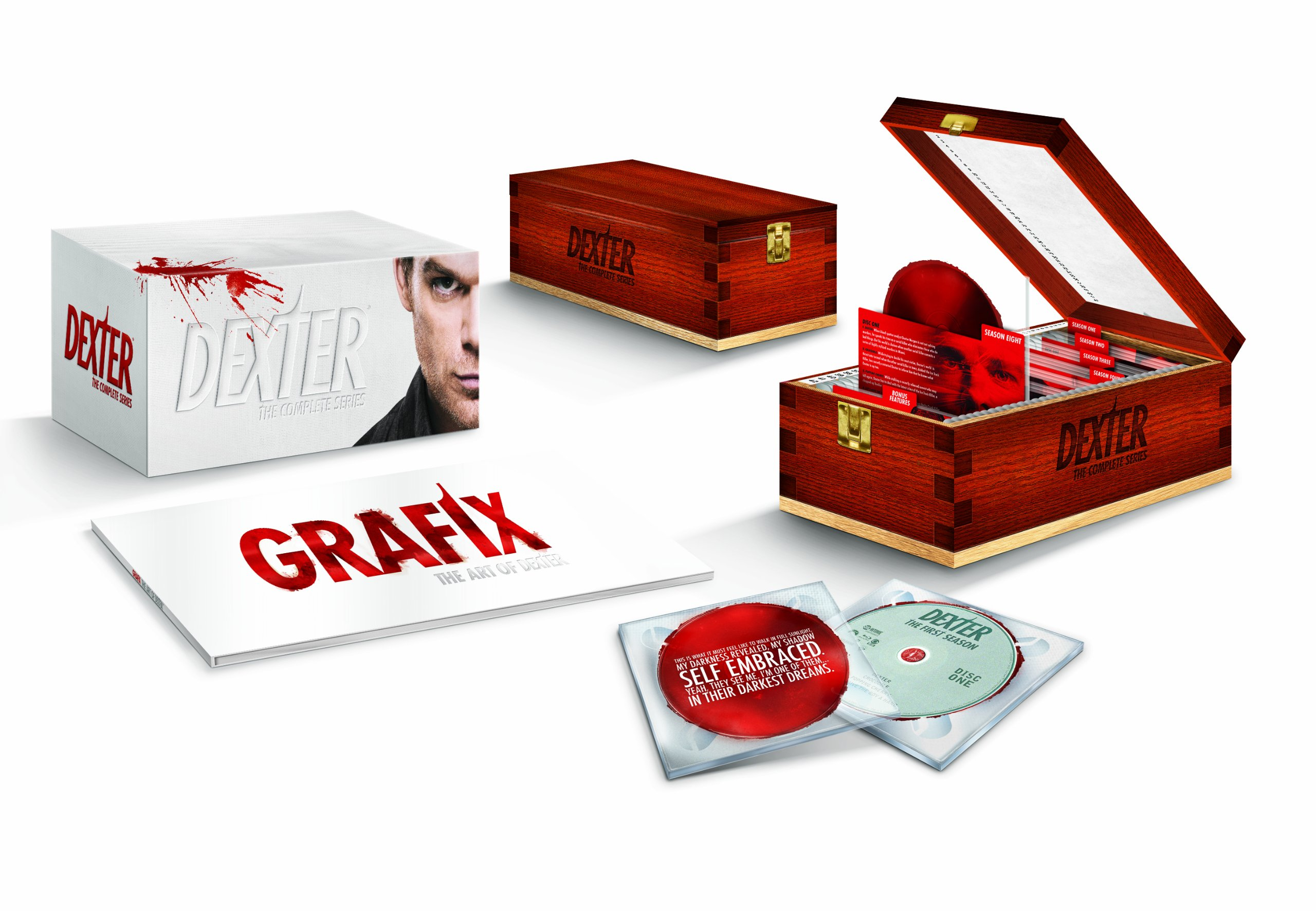 Blu-ray : Dexter: The Complete Series Collection (Oversize Item Split, Special Edition, Collector's Edition, Gift Set, Boxed Set)