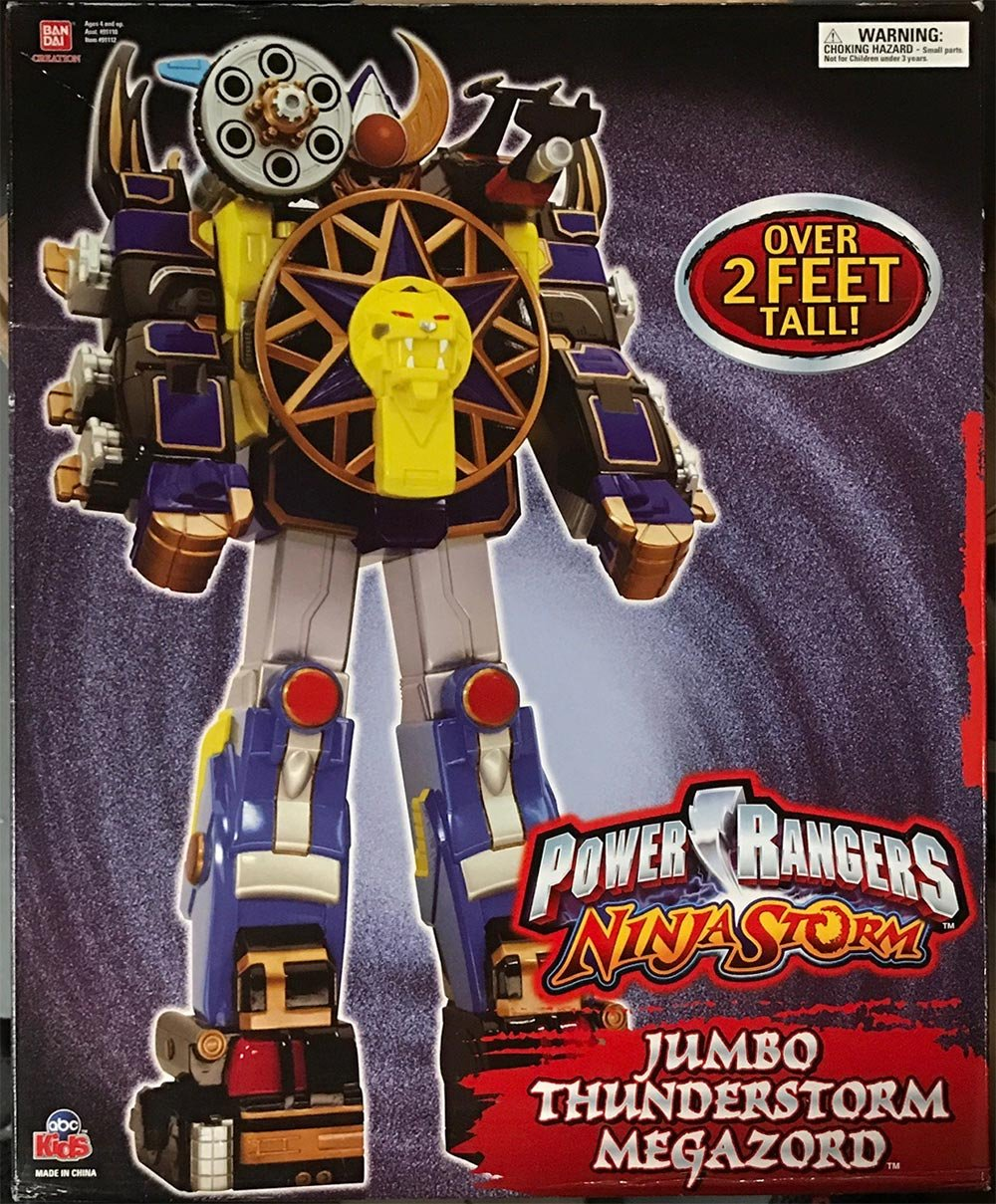 "Power Rangers Ninja Storm /""Thunderstorm Action Megazord/"""