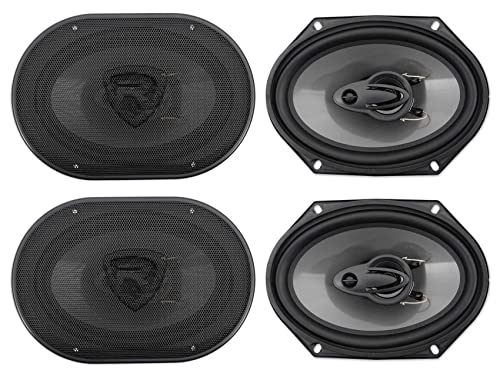 Rockville RV68.3A 6x8 3-Way Car Speakers
