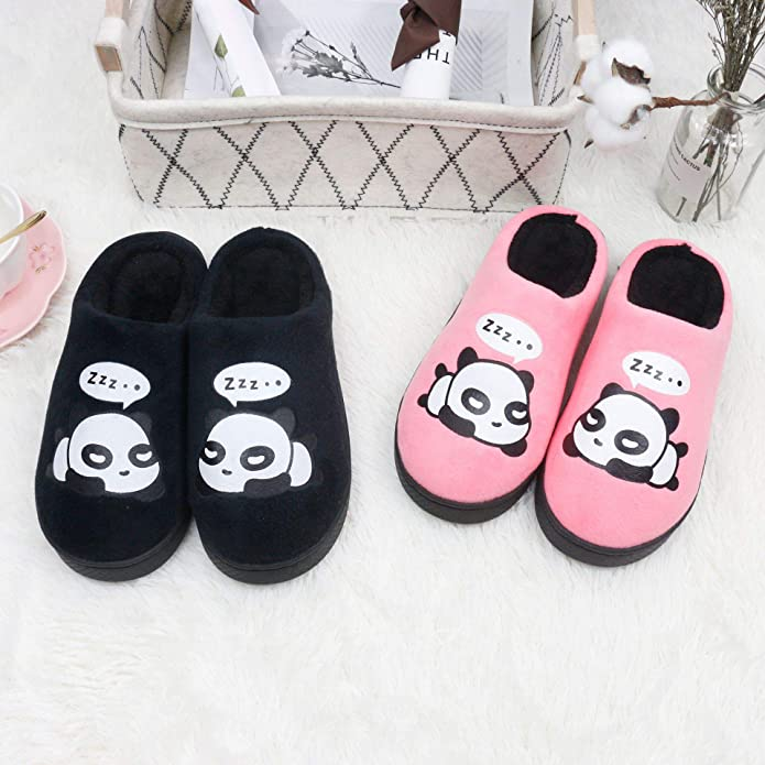 Amazon.com | QZBAOSHU Panda Slippers for Women Slippers for Men | Slippers
