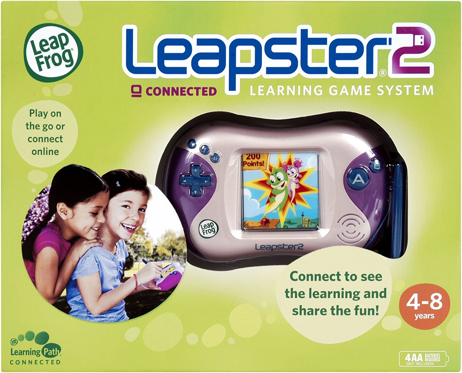 Can u play leapster games on leapster 2 2 baby games