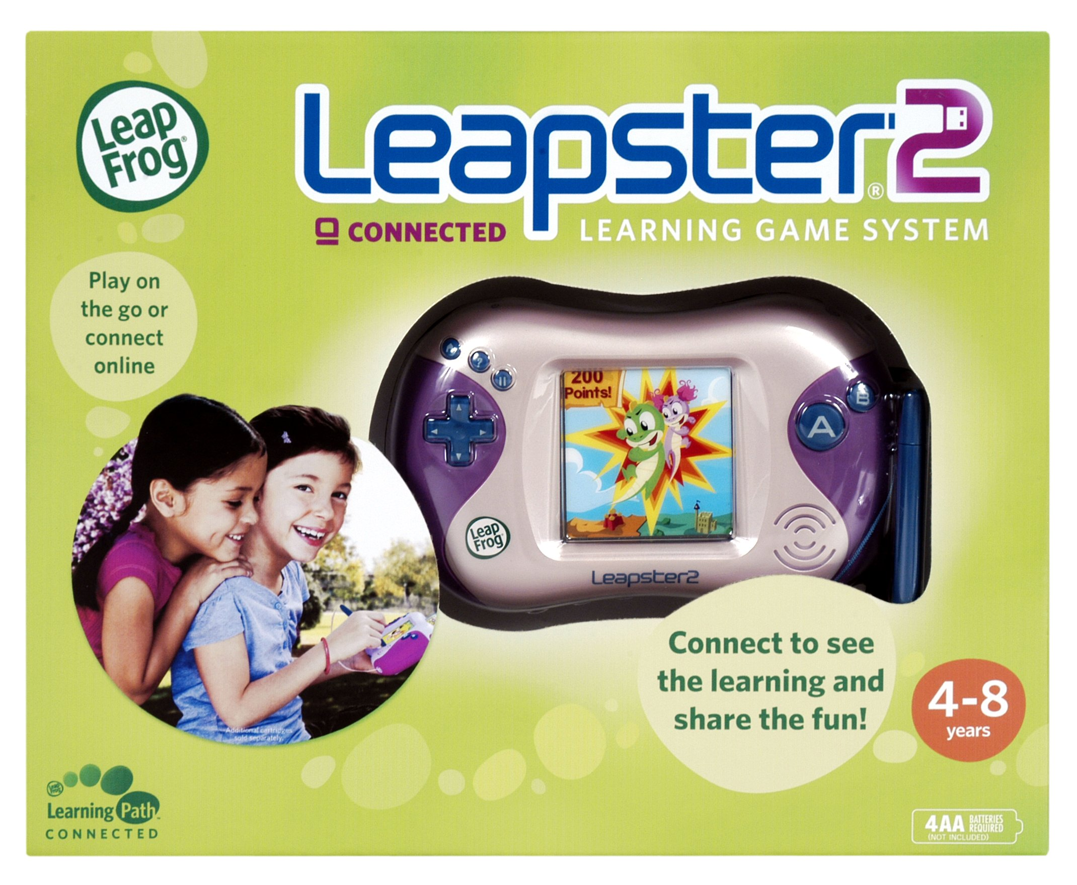 LeapFrog Leapster 2 Learning Game System - Pink by LeapFrog (Image #7)