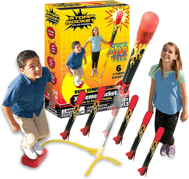 6 raquettes La fus/ée originale Stomp Rocket X-Treme