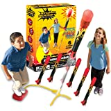 Stomp Rocket The Original X-Treme Rocket Launcher, 6 Rockets and Air Rocket Launcher - Outdoor Rocket STEM Gift for Boys and