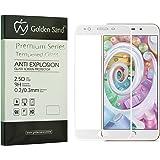 Golden Sand Tm Premium Series Full Screen Cover Tempered Screen Protector - White For Oppo F1S Selfie Expert)