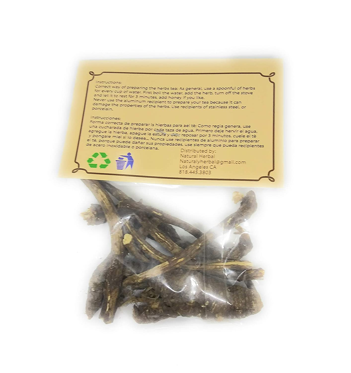 Amazon.com : Raiz De Chuchupate Hierba/Tea (0.50oz ...