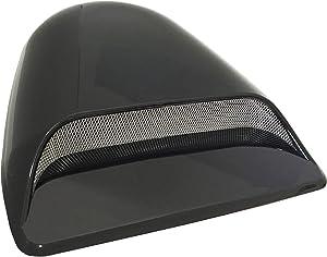 CK Formula Universal Decorative Sporty Hood Scoop Dark Smoke Black Waterproof Air Flow Intake Vent Cover Vehicle Auto