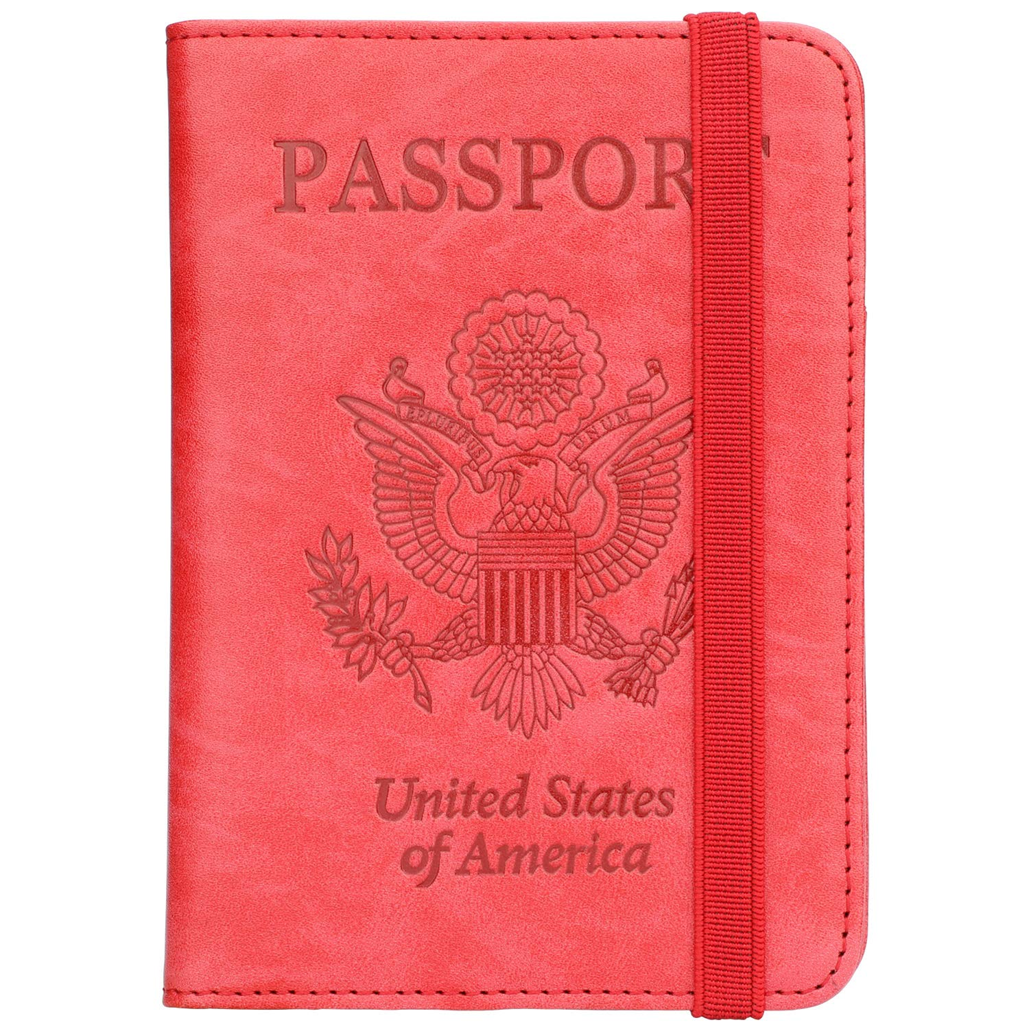 Passport Holder Cover Wallet RFID Blocking Leather Card Case Travel Wallet VPC-12