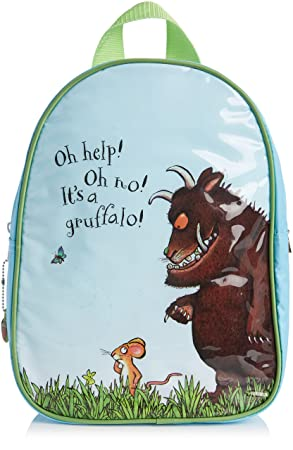 8caa6eaba4 The Gruffalo Backpack for Children Age 3 Years (Blue and Green ...