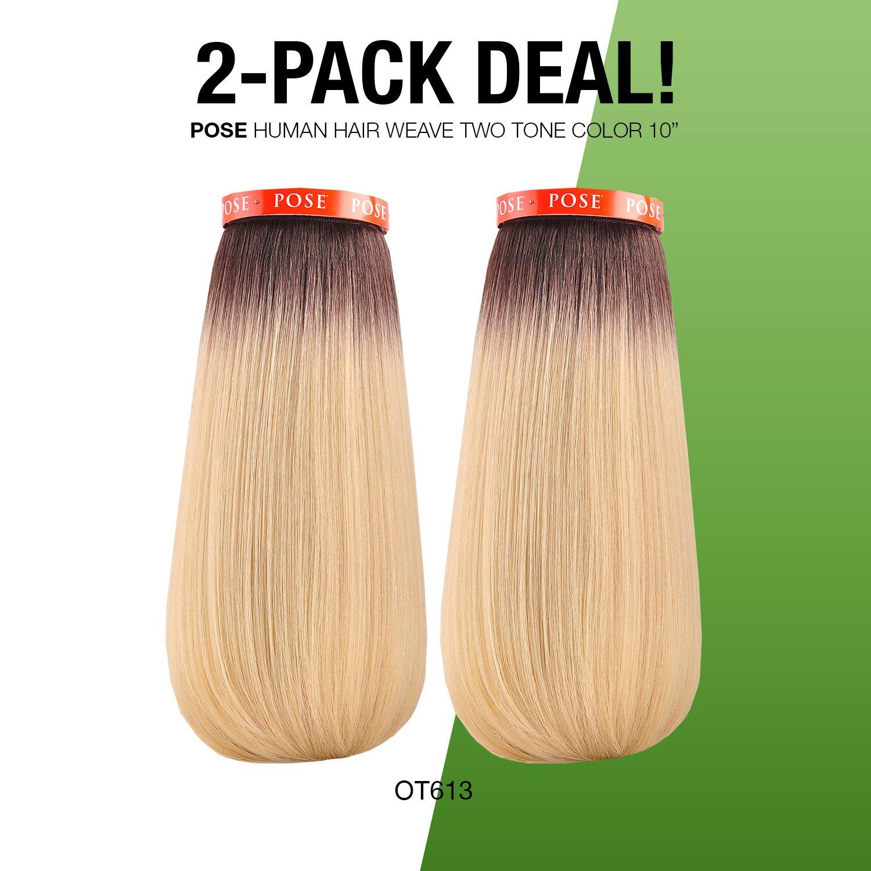 Amazon 2 Pack Deal Model Model Human Hair Blend Weave Pose