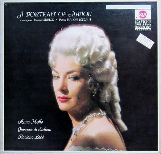 Ein Portrait der Manon (Scenes from Massenet: MANON & Puccini: MANON LESCAUT) [Vinyl Schallplatte] [2 LP Box-Set]
