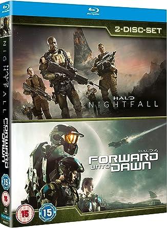 Amazon Com Halo 4 Forward Unto Dawn Halo Nightfall Double Pack