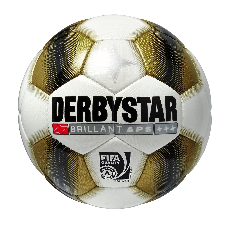 Derbystar Brillant APS - Balón de fútbol dorado dorado: Amazon.es ...