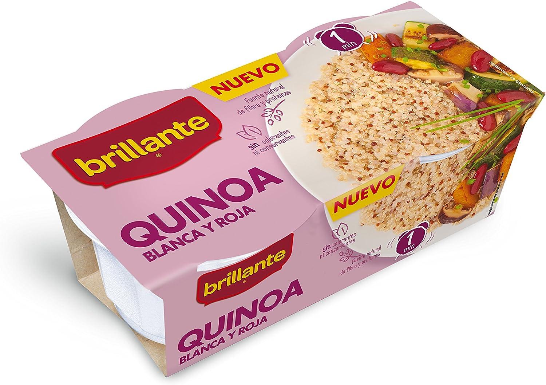 Brillante Quínoa Cereal Saludable, Color Blanco y Rojo - 2 ...
