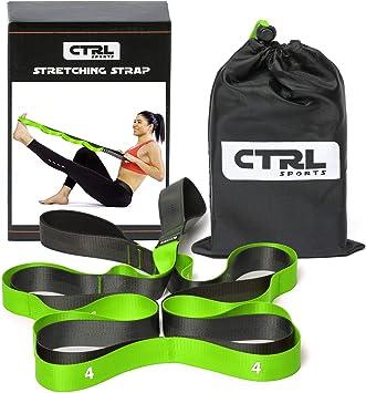 Amazon.com: CTRL Sports - Correa elástica con trabillas para ...