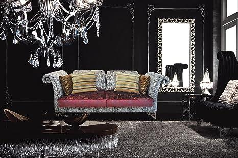 Amazon.com: Moderno sofá de terciopelo de lujo – Savoy ...