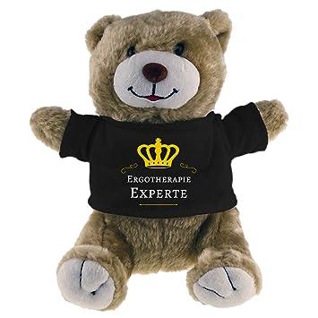 Muñeco de peluche del oso de terapia ocupacional experto Beige
