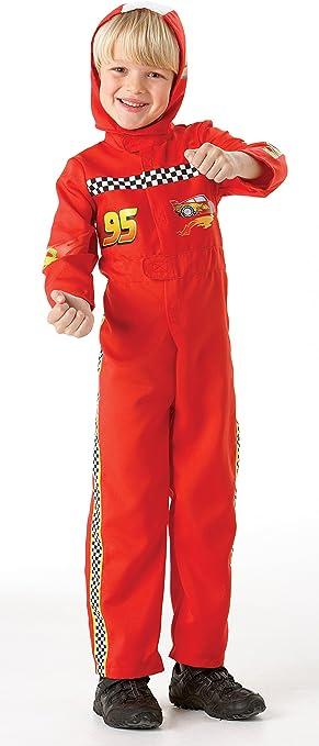 Rubie`s - Disfraz infantil de Cars 2 McQueen (884665-L): Amazon.es ...