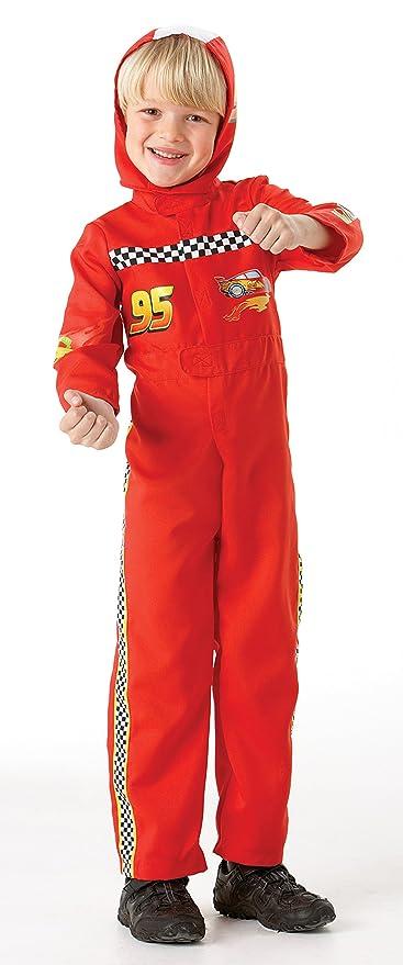 Rubie`s - Disfraz infantil de Cars 2 McQueen (884665-M): Amazon.es: Juguetes y juegos