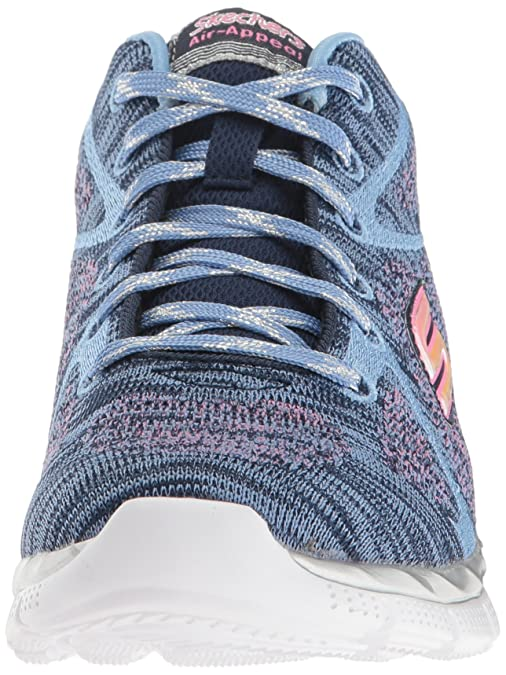 ea0b5482c126 Skechers Girls   Air-Appeal- Breezin  by Hi-Top Sneakers  Amazon.co.uk   Shoes   Bags