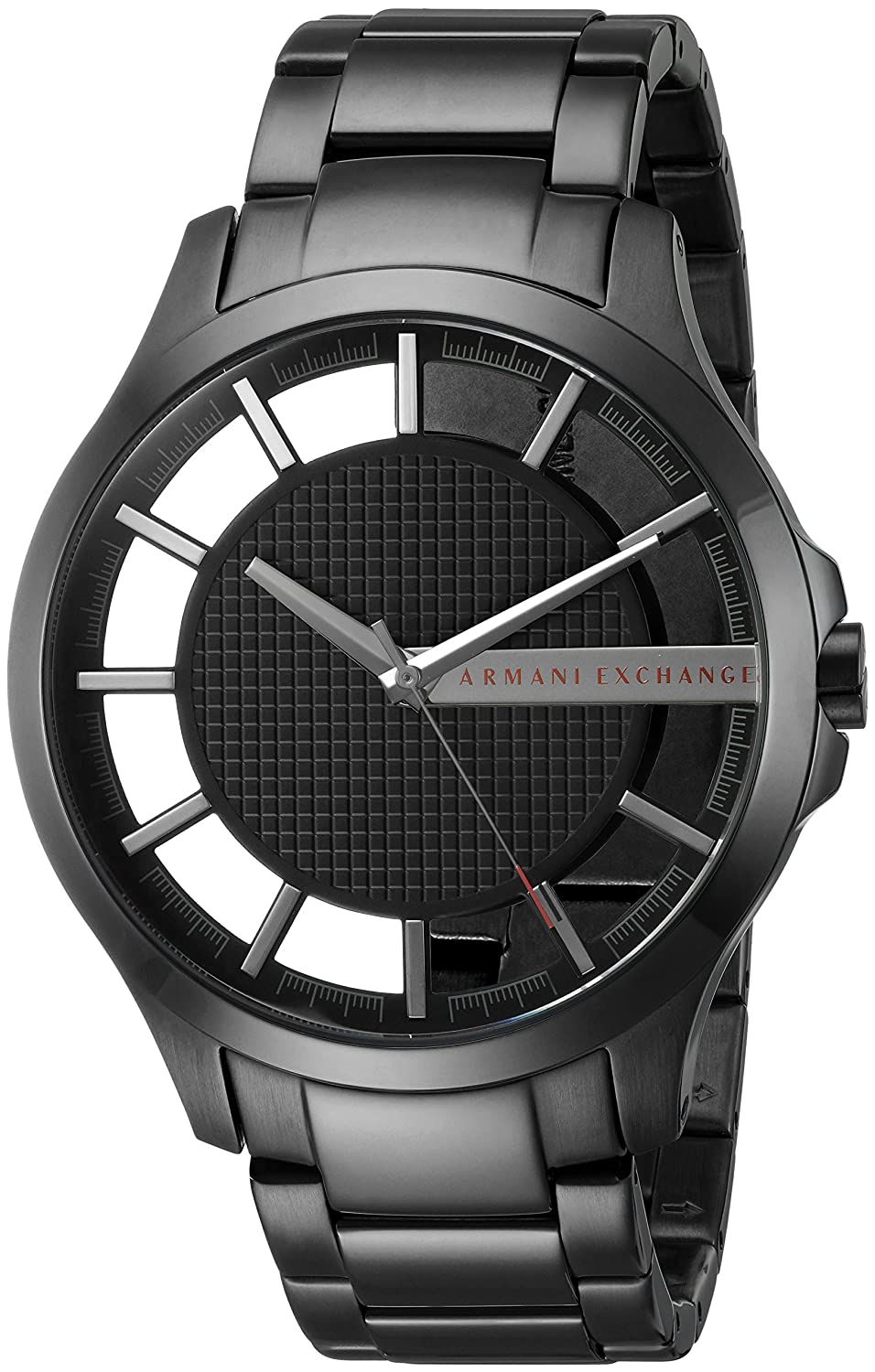 f84ec77d7 Amazon.com: Armani Exchange Men's Black IP Plated Stainless Steel Watch  AX2189: Armani Exchange: Watches