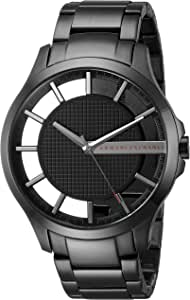 Armani Exchange Men's Black IP Plated Stainless Steel Watch AX2189