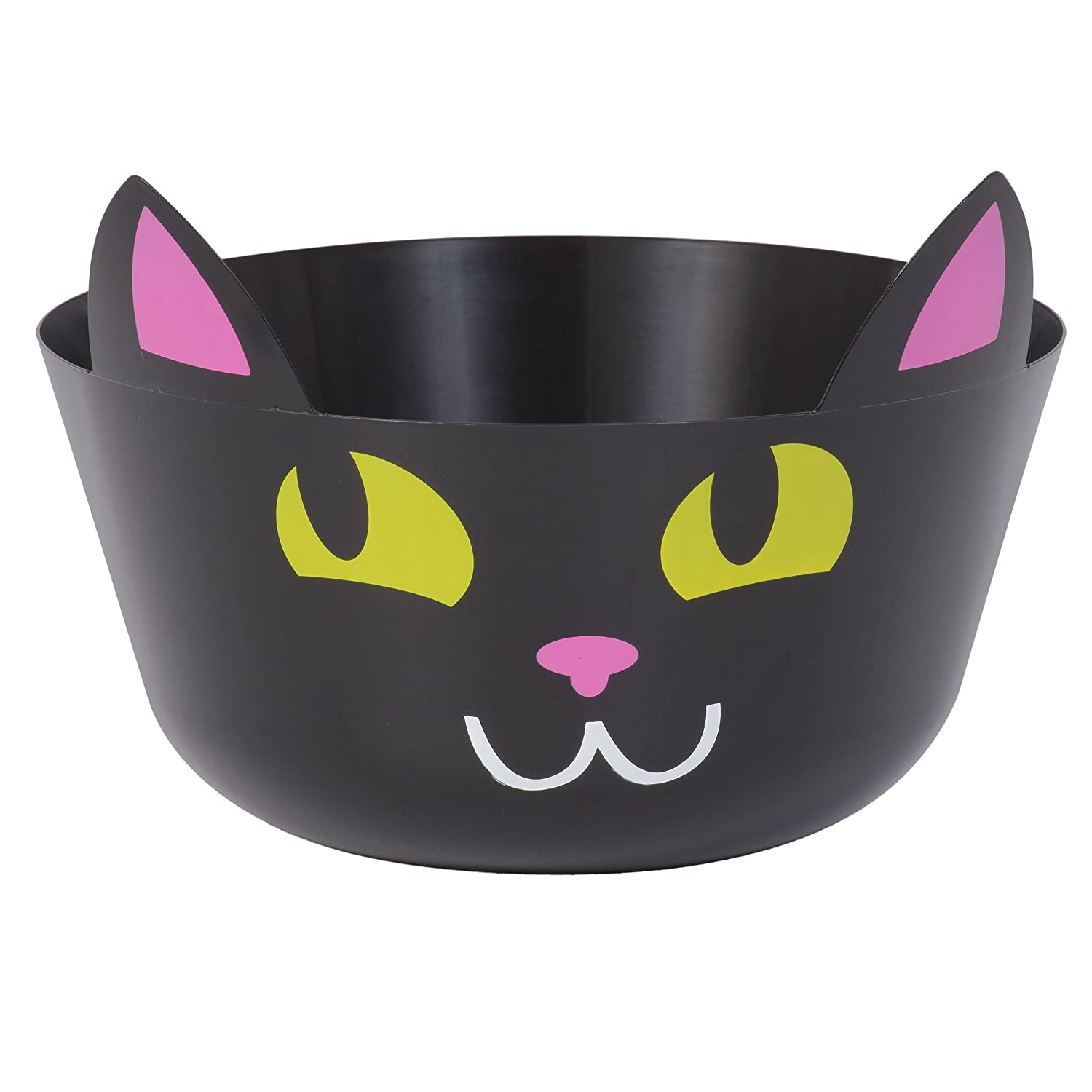 37da3ce654 Amazon.com  Halloween Black Cat Candy Treat Punch Bowl  Health   Personal  Care
