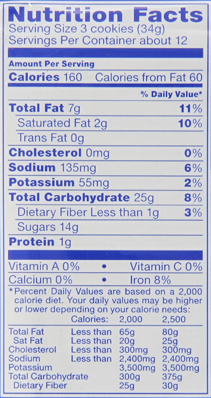 Double Stuffed Oreos Nutrition Label | Blog Dandk