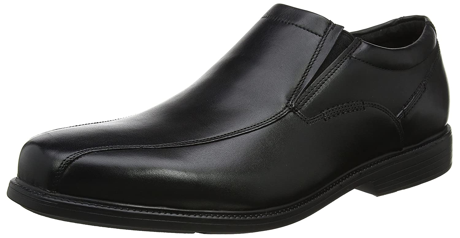 TALLA 43 EU. Rockport Charlesroad Slip On Black, Mocasines para Hombre