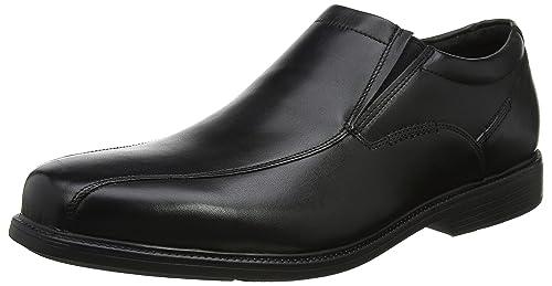 Rockport Charlesroad Slip On Black, Mocasines para Hombre: Amazon.es: Zapatos y complementos