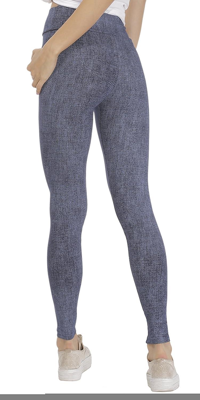 BeLady Damen Leggings Kn/öchellang aus Baumwolle Abnehmen Hose mit Hoher Bund Blickdichte Leggins Viele Muster 36,38,40,42,44,46,48,50,52