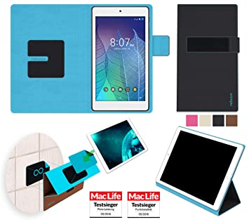 pretty nice 14e1e 2c208 Alcatel OneTouch Pop 7 LTE Cover Case   Black  : Amazon.co.uk ...
